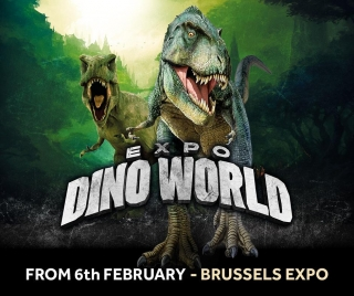 Expo Dino World arrive à Brussels Expo!