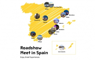 Inscrivez-vous maintenant au roadshow de Meet in Spain