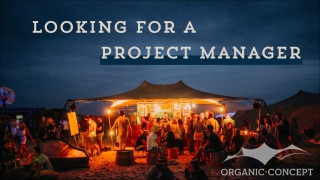 Organic-Concept recherche un(e) Project Manager Private Events