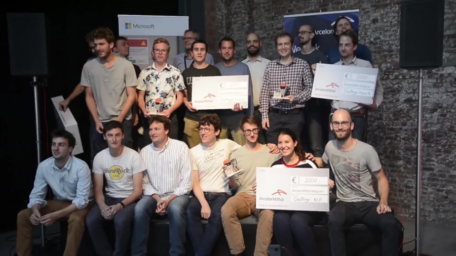 ArcelorMittal Hackathon in The EGG Brussels