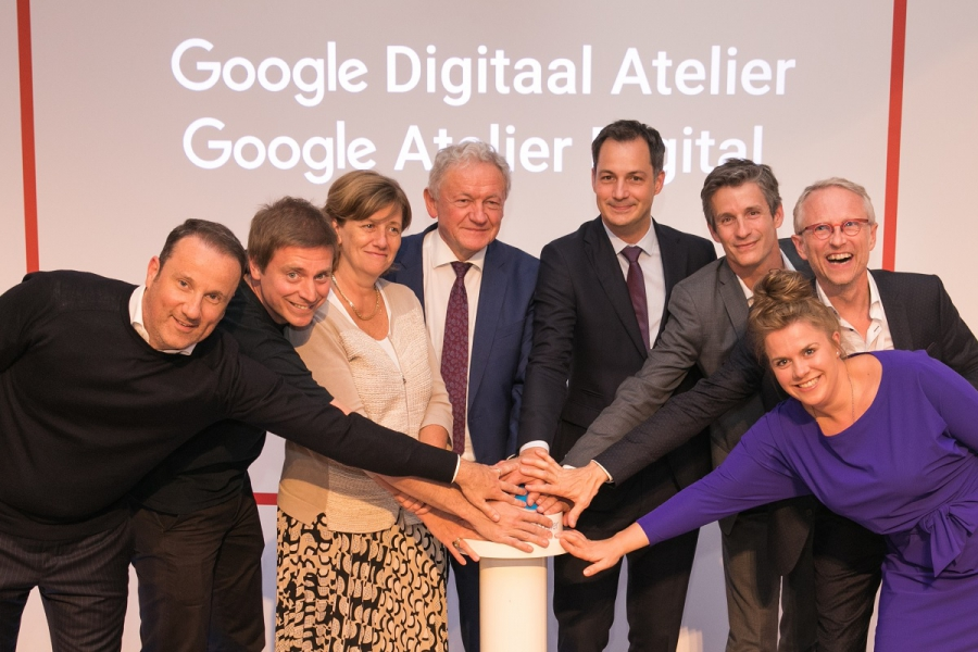 The Oval Office, live partner van het Google Digitaal Atelier in Brussel