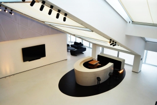 Prestigieus audiovisueel project in de Belfius Tower