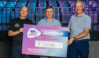 "L'action ""Bike for Live2020"" rapporte 50.000 euros"